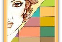 Toamna soft (Soft / Tinted Autumn) / Explicatiile pozelor din album le gasiti pe Chic Book, Blog de culoare si inspiratie. Chic Book: Read the Book, get the Look. www.ChicBook.ro