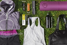 Lululemon, Ivviva, MPG, Zella, Glyder, & all my fave fits! / by Annie Steeves