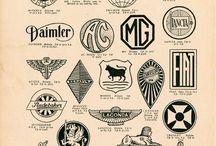 vintage classic car logo inspiration