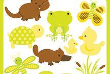 Art & Doodles - Animals - Pond