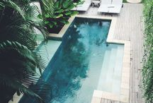 Pools / Pools and landscaping