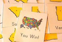 Geography- U.S.A / by Alicia