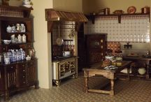 Mini's Victorian kitchen