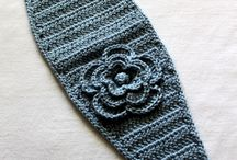 crochet headbands and beanies