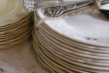 Beautiful Dishes and Silverware
