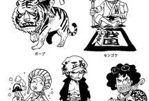 One Piece Admirals