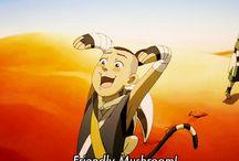Aang the last airbender / Legend of Korra