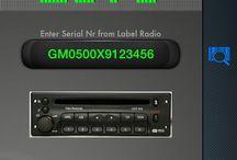 Delco Code Calculator / Opel Radio OEM manuf. Delco Code Calculator