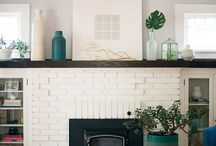 Abigail Amira Loves: Fireplaces / Real or faux, we love them all!