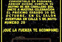 Cumpleaños stars wars
