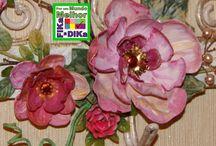 Flores Ideias / Veja mais ideias no Facebook  e no Blog do Fika a Dika