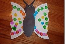 Bug crafts for kids