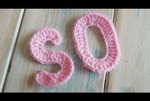 letras es crochet