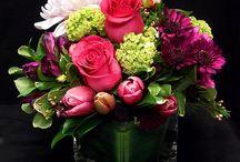 Pastel Floral Arrangements