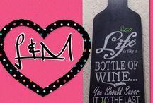 L&M All about Wine / Para los amantes del vino / by Marimar Echeverria