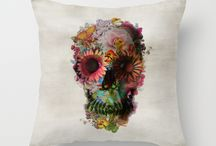 Throw Pilllow/Cases / Throw Pillow cases from Society6 Site