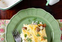 Savory Breakfast Recipes / by Denise Michard