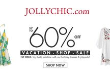 Jollychic Coupon Codes / Jollychic.com is an online store of Clothing and Accessories. Jollychic have large collection of clothing, shoes, bags and accessories, you'll find everything you need to enhance your wardrobe and your style without breaking the bank. For more Jollychic coupon codes and deals visit: http://www.couponcutcode.com/stores/jollychic/