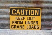 Carteles  de aviso