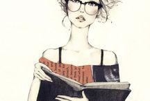 Me, read...