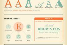 kleur en lettertype site