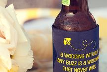 Vintage Funk Blue & White Wedding / Wedding ideas