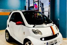 My SMART 450 (Real photos) / Album about how my wife and I was customized our passion smart fortwo model 450 and as life in a city is much easier with one of them.