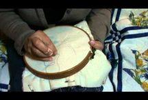 šití quiltu