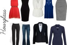 Hourglass work clothes