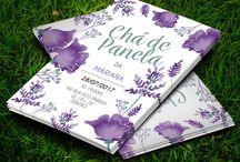 Chá de Panela Floral Purple