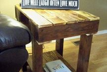 Pallet board furniture