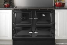 Black Kitchens / Add a little black magic to kitchen designs to give them a sophisticated edge.