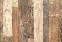Inspiratie voor gebruik Oud hout / Oud hout voor de vloer of als wandbekleding
