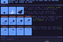 pixel art / refs to learn
