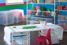 Play Room Organization / by Denise H