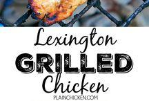 Grilled Chicken Marinades
