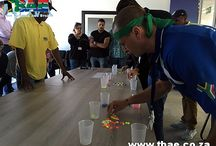 Kuehne and Nagel Minute To Win It Team Building Event in Cape Town