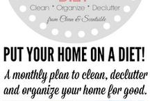 Decluttering and storage