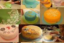 Put the icing on the cake / Cake decorating ideas