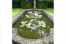 Pond / Ponds, formal ponds, brick ponds, stone ponds