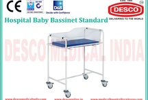 Hospital Baby Bassinet Manufacturers India / We are devoted in manufacturing, supplying, distributing, wholesaling, trading and retailing Hospital Baby Bassinet in India. The frame of bassinet is made of round tube. For product details check out our website.