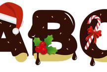 ABC NAVIDAD III / Abecedario de Galletas de Navidad