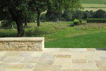 York stone patio