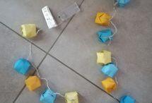 Objet de déco / Les petits objets de décoration autour de l'origami