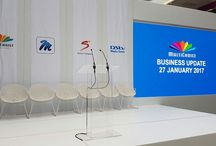 Multichoice Business Update / LED Screen, Sound Lighting and Staging Event