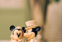 Disney Dream Weddings / Disney inspired ideas for wedding.  / by Chelsea Shibuya