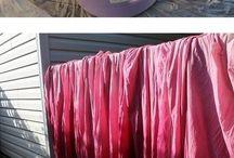 Tecidos, lãs e costura