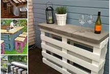 Pallet Furniture / All types of furniture made from using recycled pallets