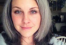 silver hair inspiration / by Vintage Amanda
