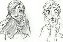 Les dessins les plus amusants /  Dessins et peintures ※ ratée de moi ... Je espère que vous aimez